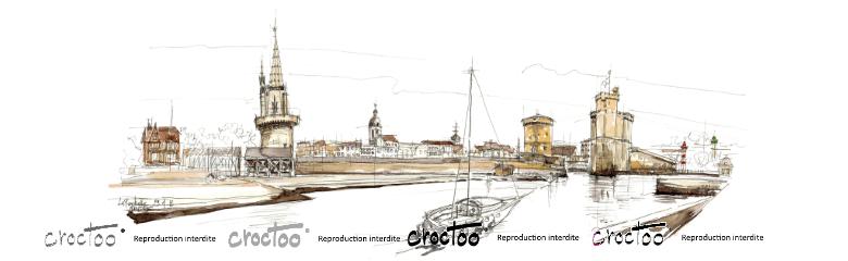 L'entrée du vieux port de La Rochelle